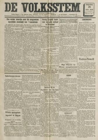 De Volksstem 1938-11-26