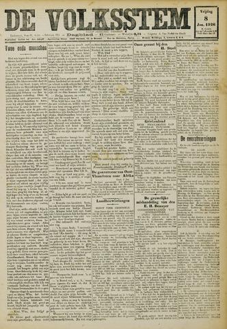 De Volksstem 1926-01-08
