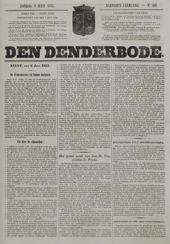 De Denderbode 1854-07-09