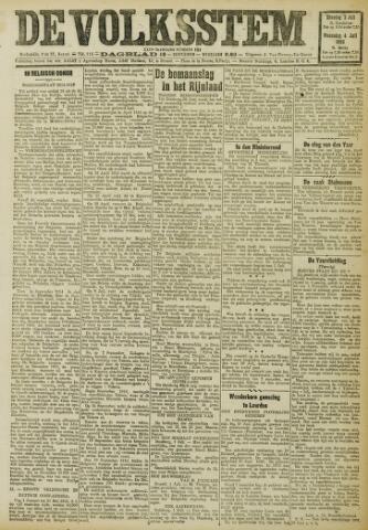 De Volksstem 1923-07-03
