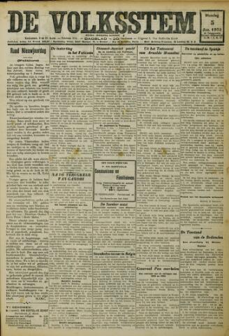 De Volksstem 1932-01-05