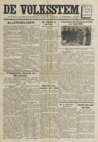 De Volksstem 1938-10-31