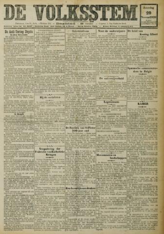 De Volksstem 1926-11-20
