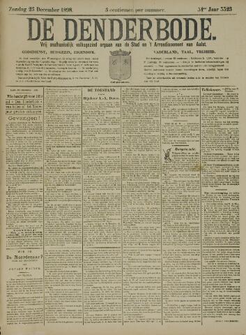De Denderbode 1898-12-25