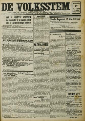 De Volksstem 1932-11-17