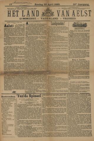 Het Land van Aelst 1889-04-28