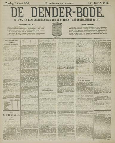 De Denderbode 1890-03-02