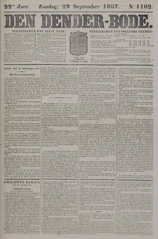 De Denderbode 1867-09-29