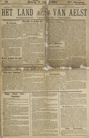 Het Land van Aelst 1884-08-31