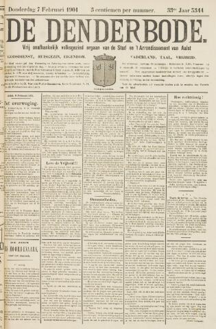 De Denderbode 1901-02-07
