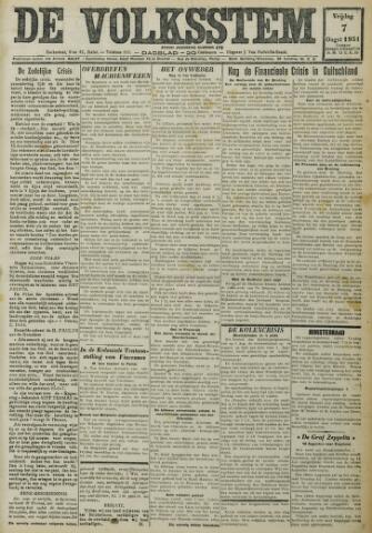 De Volksstem 1931-08-07