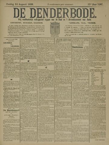 De Denderbode 1898-08-14
