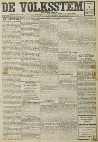 De Volksstem 1930-07-01