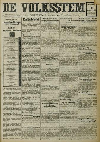 De Volksstem 1926-08-21
