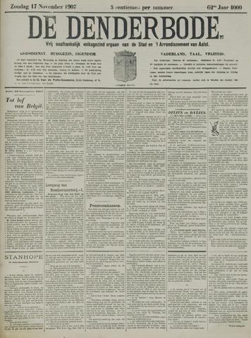 De Denderbode 1907-11-17