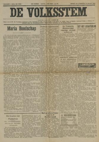 De Volksstem 1941-03-25