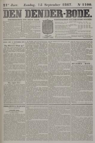 De Denderbode 1867-09-15