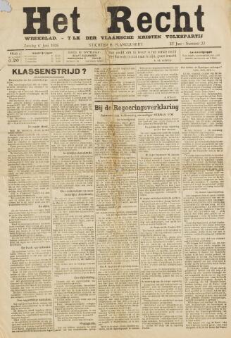 Het Recht 1926