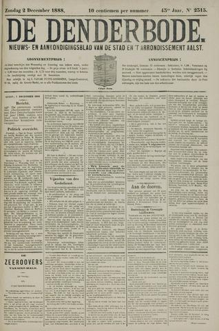 De Denderbode 1888-12-02