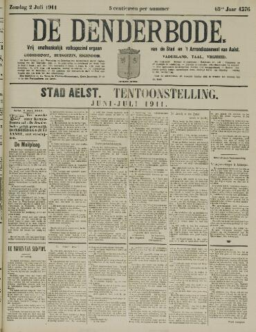 De Denderbode 1911-07-02