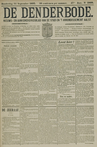 De Denderbode 1893-09-14