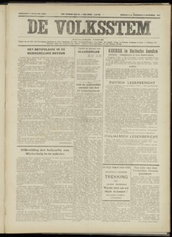 De Volksstem 1941-11-04