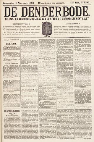 De Denderbode 1886-11-18