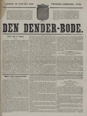 De Denderbode 1848-01-30