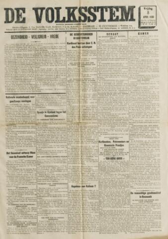 De Volksstem 1938-04-08