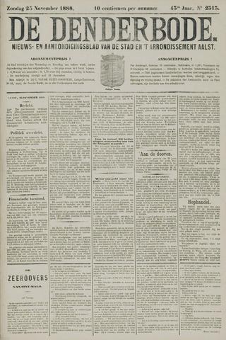 De Denderbode 1888-11-25