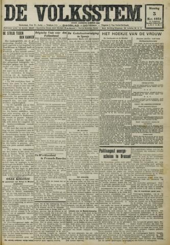 De Volksstem 1931-11-03