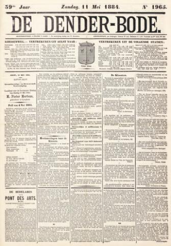 De Denderbode 1884-05-11