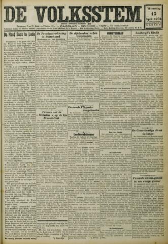 De Volksstem 1932-04-13