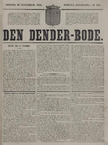 De Denderbode 1848-11-26