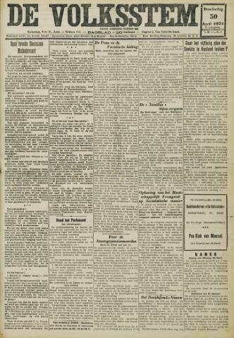 De Volksstem 1931-04-30