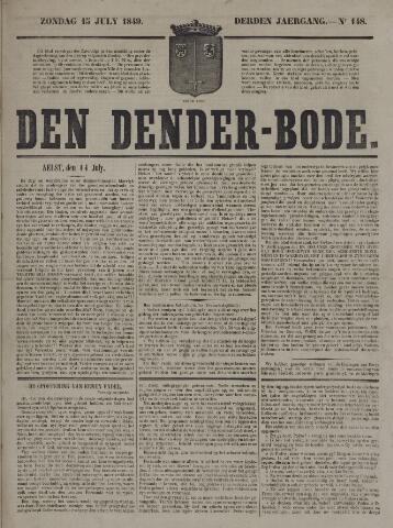 De Denderbode 1849-07-15