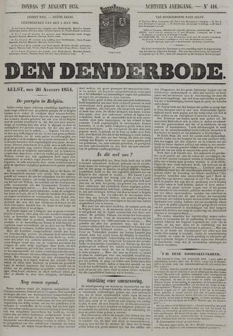 De Denderbode 1854-08-27