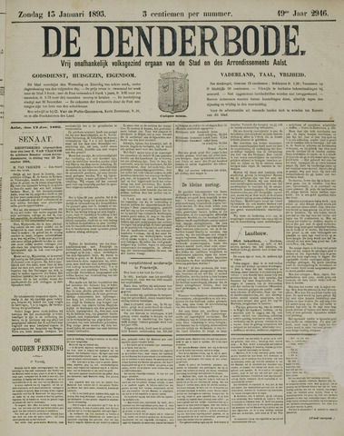 De Denderbode 1895-01-13