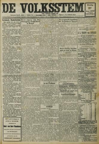 De Volksstem 1930-06-17
