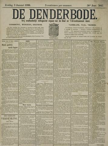 De Denderbode 1896-01-05