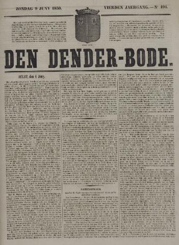 De Denderbode 1850-06-09