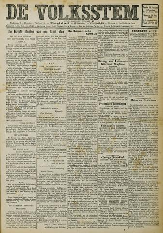 De Volksstem 1926-01-24