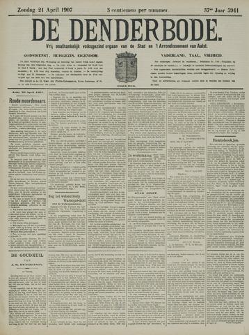 De Denderbode 1907-04-21