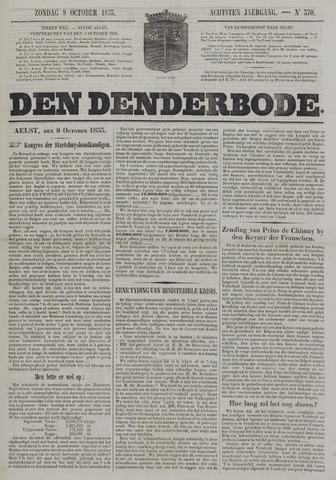 De Denderbode 1853-10-09