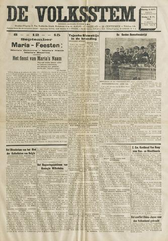 De Volksstem 1938-09-12