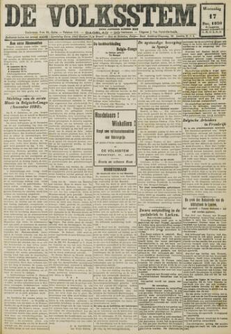 De Volksstem 1930-12-17