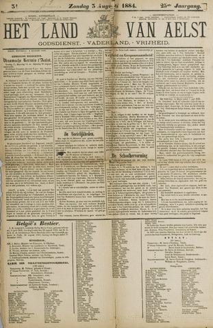 Het Land van Aelst 1884-08-03