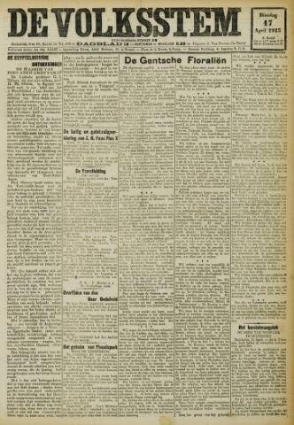 De Volksstem 1923-04-17