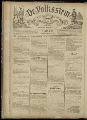 De Volksstem 1895-08-10