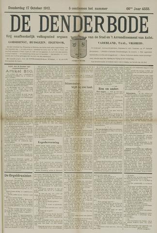 De Denderbode 1912-10-17